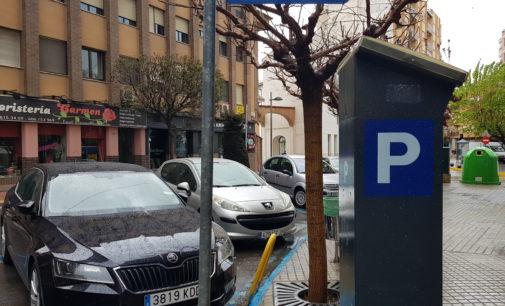 Villena decreta la suspensión de la Zona Azul a partir de las seis de la tarde