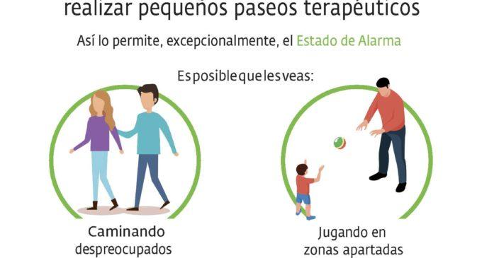 Apadis recuerda que las personas con discapacidad tienen derecho a realizar paseos