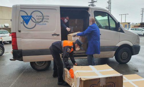 La empresa de Villena «Feliz Caminar» dona 1.000 pares de calzado médico