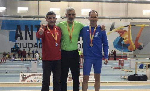 Paco Díaz, bronce en el Campeonato de España de Atletismo Master