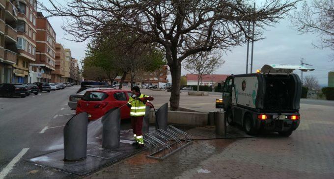 Agricultores de Villena pondrán a disposición del Ayuntamiento su maquinaria para desinfectar