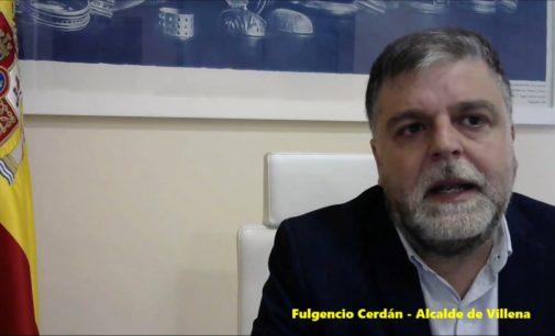 El alcalde de Villena reconoce la existencia de vecinos infectados por coronavirus