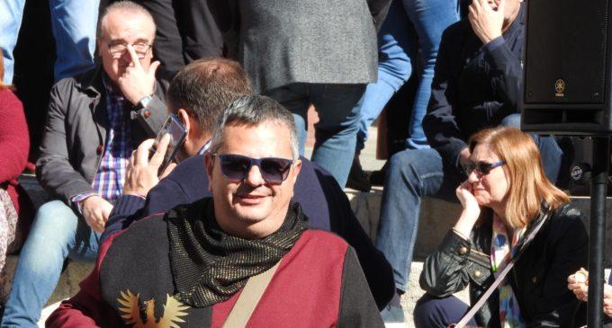 Santi Hernández, pregonero de las Fiestas del Medievo: «Me gustaría vivir en el Rabal»