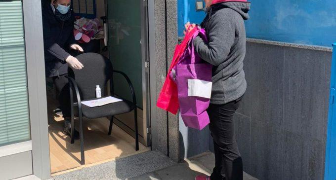 Comercios y Servicios Vi entrega material de protección a sus establecimientos