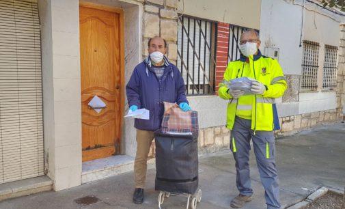 El Ayuntamiento de Villena finaliza esta semana el reparto de mascarillas entre la población