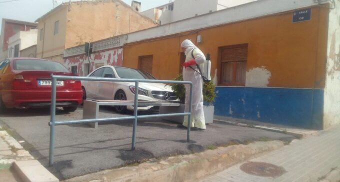 Ciudadanos pide la desinfección diaria de las calles