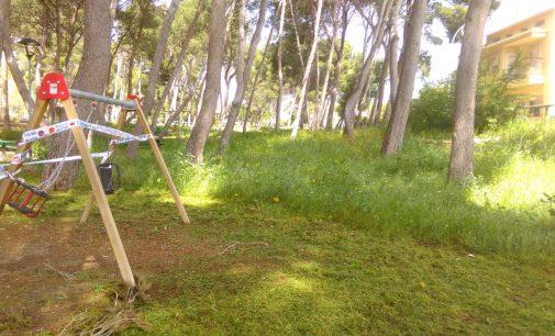 La brigada de jardines avanza con la recuperación de zonas verdes