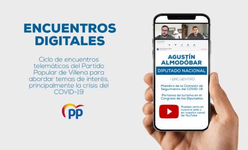 El PP inicia su ciclo de 'Encuentros Digitales' con el diputado nacional Agustín Almodóbar
