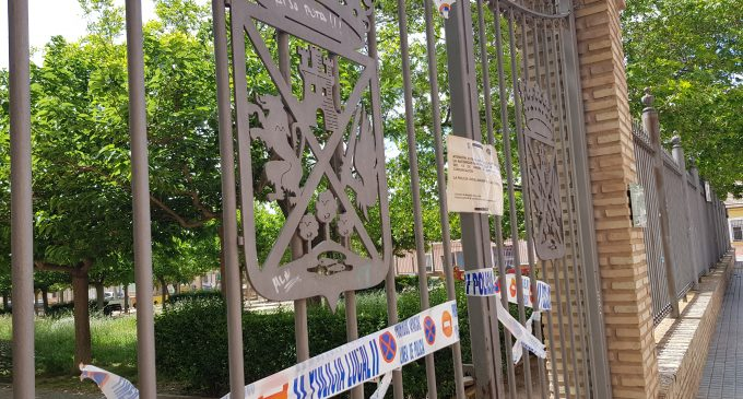 El 1 de junio se reabre el parque del Mercado, La Encina y el Espacio Joven