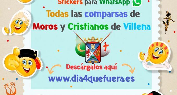 Los stickers de las comparsas desfilan por los WhatsApp de los festeros