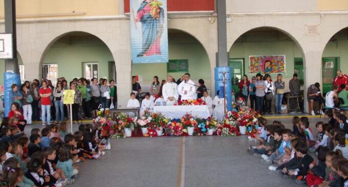 Fiesta Mª Auxiliadora Misa Colegial 24-5-2010. Fotografías Antonio Hernández