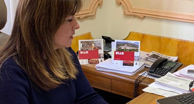 La alcaldesa de Biar escribe una emotiva carta de añoranza por los suspendidos Moros y Cristianos