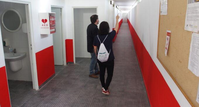 Deportes acomete obras de adecuación y mantenimiento en el polideportivo mununicipal