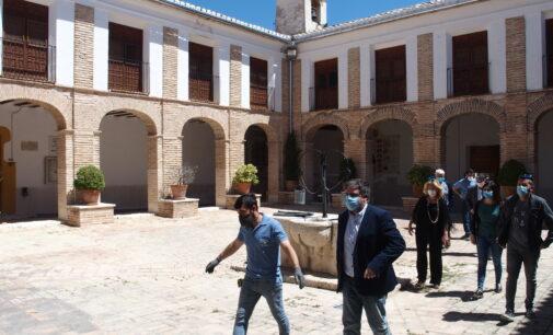 Las obras de rehabilitación del Santuario de Las Virtudes finalizan la próxima semana