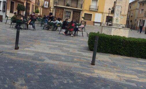 Biar autoriza a la hostelería ampliar el espacio para las terrazas