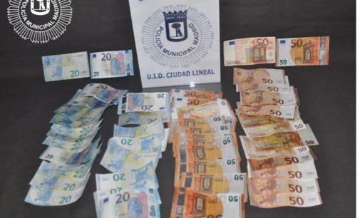 La Policía Local alerta de la aparición de billetes falsos