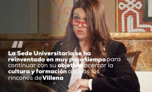 Encuentro Digital con Maria Ángeles Alonso, directora de la Sede Universitaria de la UA en Villena