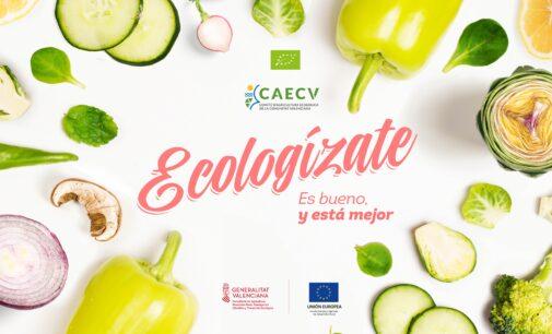 El CAECV pone en marcha una campaña de promoción online para apoyar al sector ecológico de la Comunitat