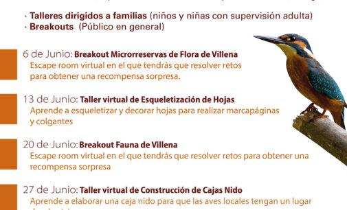 La Sede Universitaria de Villena presenta «Flora y  Fauna en Villena», junto a El Chamariz y la Concejalía  de Medio Ambiente