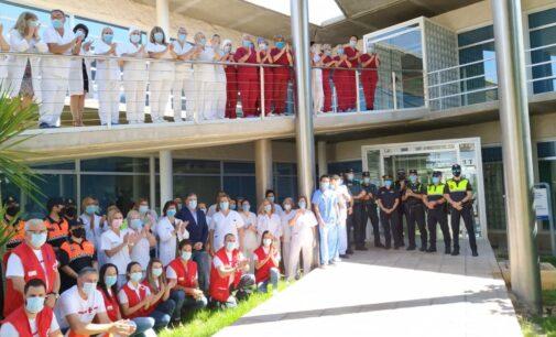 Sanitarios, voluntarios y cuerpos de seguridad juntos contra el Covid-19