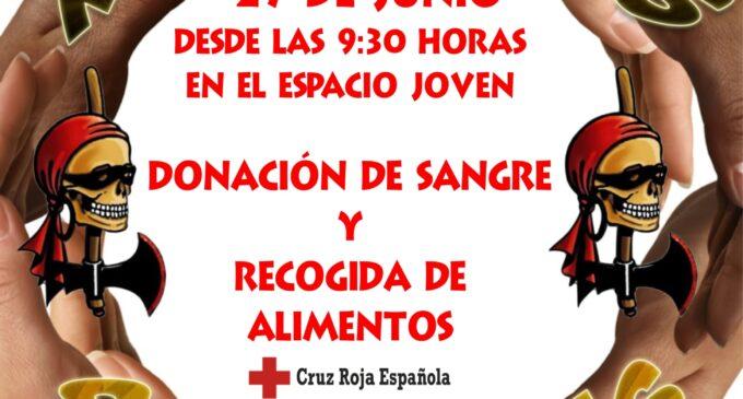 La comparsa de Piratas retoma las XI Jornadas Solidarias el sábado 27 de junio