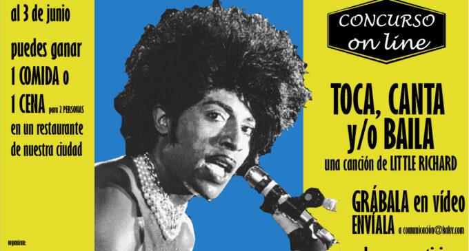 Juana Varela, David Conejero y Virginia Puche, ganadores del concurso on-line dedicado a Little Richard
