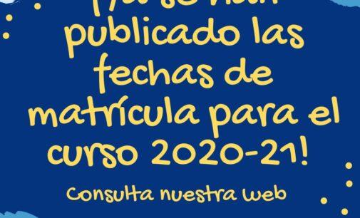 Preinscripción y  matrícula en la Escuela Oficial de Idiomas