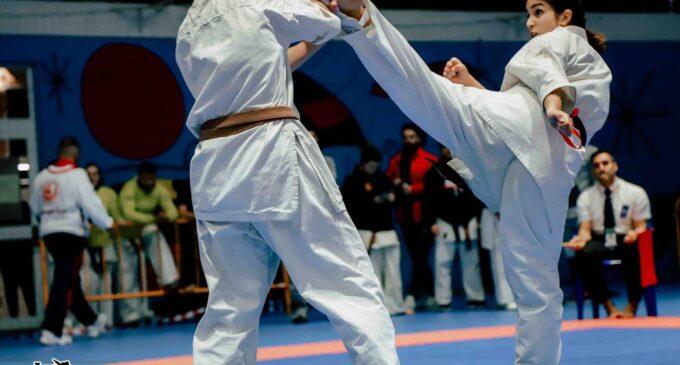 "Andrea Alcaraz, Subcampeona de España de kárate kyokushinkai :""Tardaré meses en recuperar el nivel de competición"""