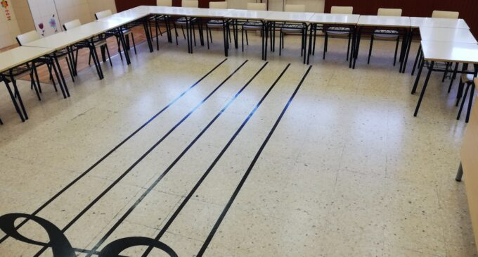 El colegio Ruperto Chapí acogerá parte de las aulas del Conservatorio Municipal de Música el próximo curso