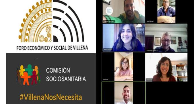 Comunicado de la comisión sociosanitaria del Foro Económico y Social de Villena