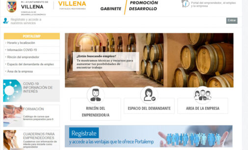Villena pone en marcha un portal para divulgar ofertas y demandas de empleo