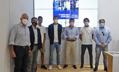 Equelite de Villena acoge el primer torneo de tenis internacional de España tras la alerta sanitaria