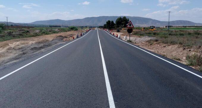 Conselleria elimina un punto inundable en la carretera que une Villena y Caudete