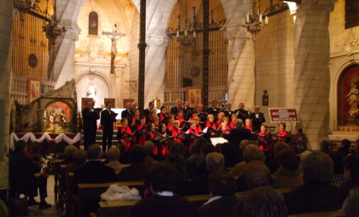 Coral Ambrosio Cotes Concierto Navidad,Villena 25-12-2008. Fotogalería, Antonio Hernández