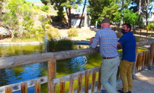 Renuevan la zona acuática del Hoyo de Las Virtudes