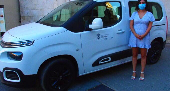 La concejalía de  Bienestar Social y Sanidad adquiere por 18.000 € un nuevo vehículo