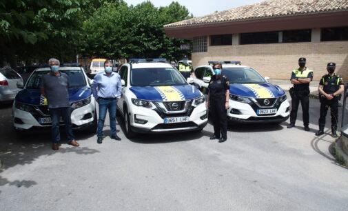 La Policía Local renueva su parque móvil con tres nuevos vehículos