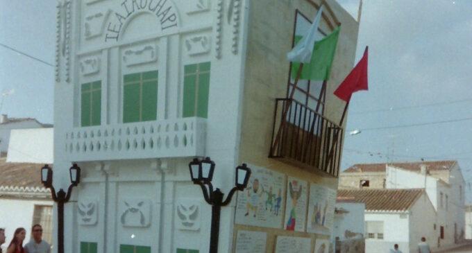 Fiestas de San Juan en La Encina 27-6-2003 Falla V.Rodes