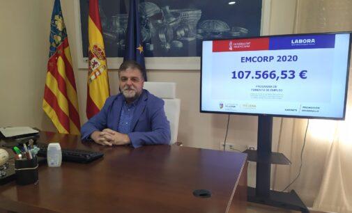 Villena recibe 107.000 euros para la contratación de personas desempleadas de más de 30 años