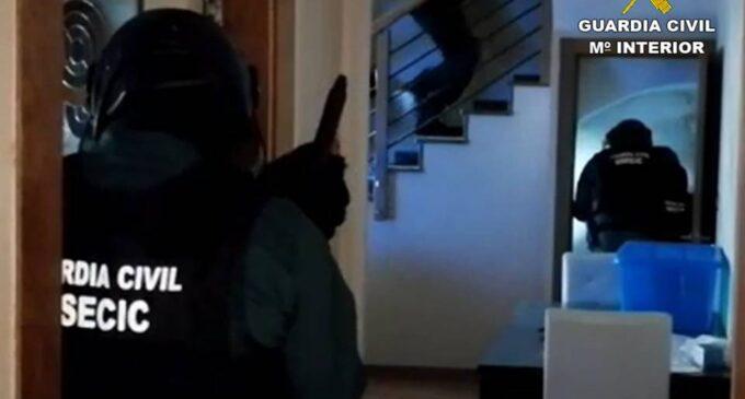 La Guardia Civil desmantela en Villena un punto de venta de drogas