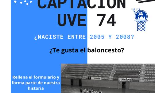 Captación club baloncesto V-74