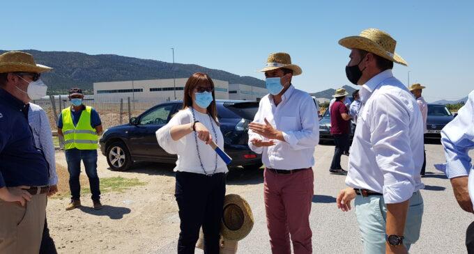 La Diputación mejora la carretera entre Biar y Cañada con una inversión que alcanza casi el millón de euros