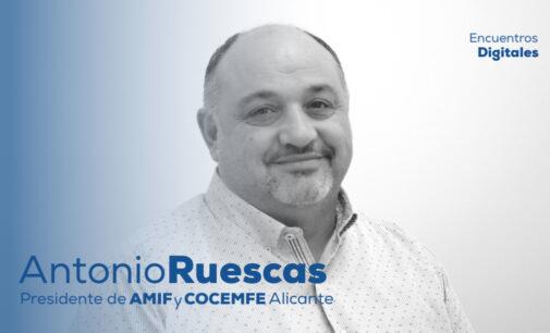 Encuentro Digital con Antonio Ruescas, presidente de AMIF Y COCEMFE Alicante