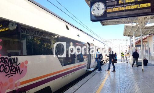 Trenes de cercanías reales ya