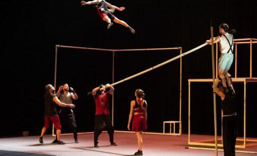 """El Teatro Chapí vuelve a subir el telón con el espectáculo de circo """"ÁUREO"""
