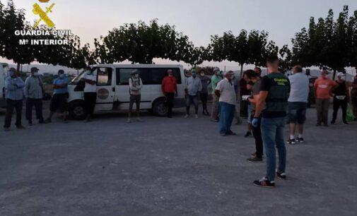 La Guardia Civil investiga a dos mujeres por un presunto delito contra los derechos de los trabajadores