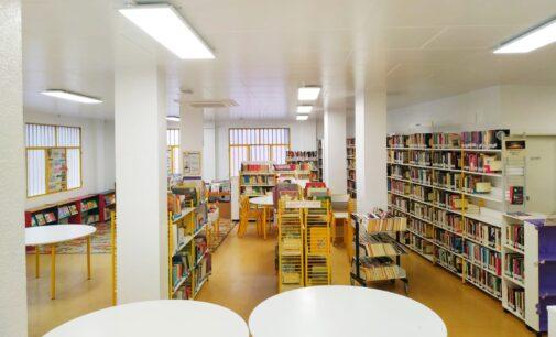 La Biblioteca de La Paz estrena nueva iluminación