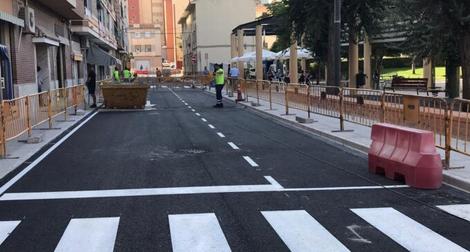 Finalizan las obras de la Plaza del Convento y calles aledañas de Biar