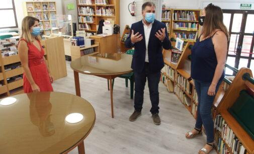 Abre la biblioteca Miguel Hernández con suelo renovado