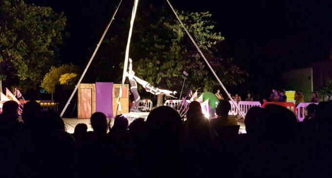 La Casa de la Cultura insiste en el cumplimiento de las medidas de seguridad en el festival de circo Hop